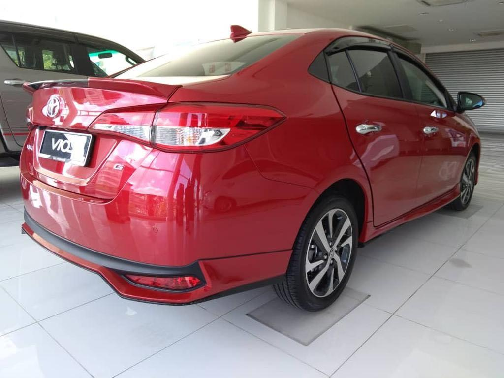 Toyota Vios 1.5 Baru full loan