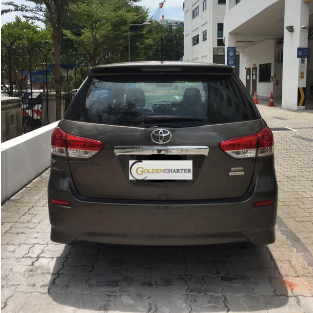 Toyota Wish 1.8A For Personal / PHV Rental! Gojek rebate avail !