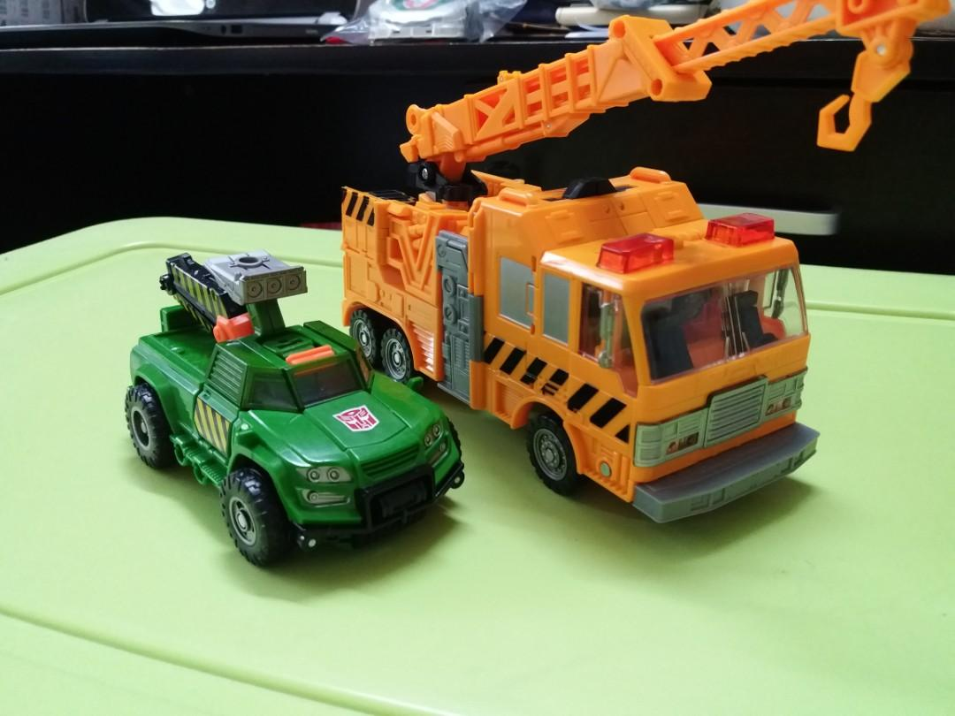 Transformers Voyager Grapple Deluxe Hoist