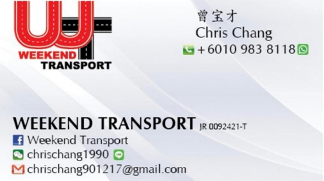 Transport SG to JB / Malacca / KL / Genting / Cameron / Ipoh / Penang / Hatyai
