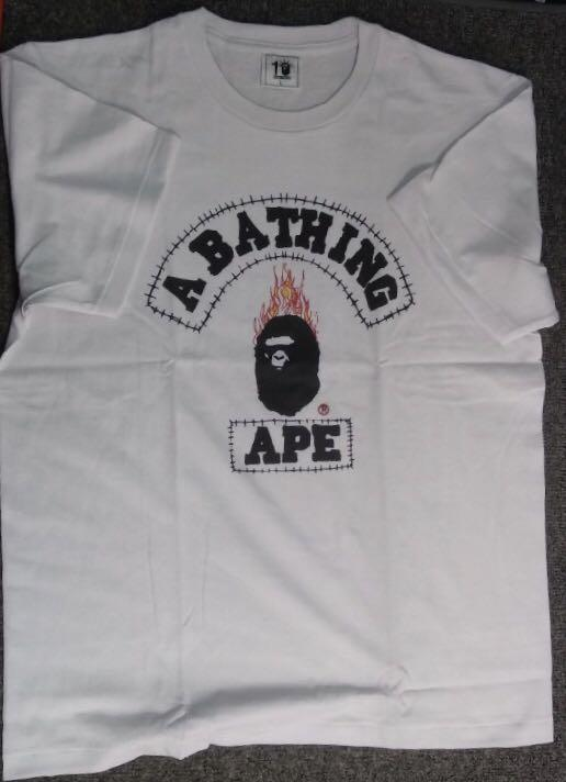 Travis Scott x Bape Tshirt