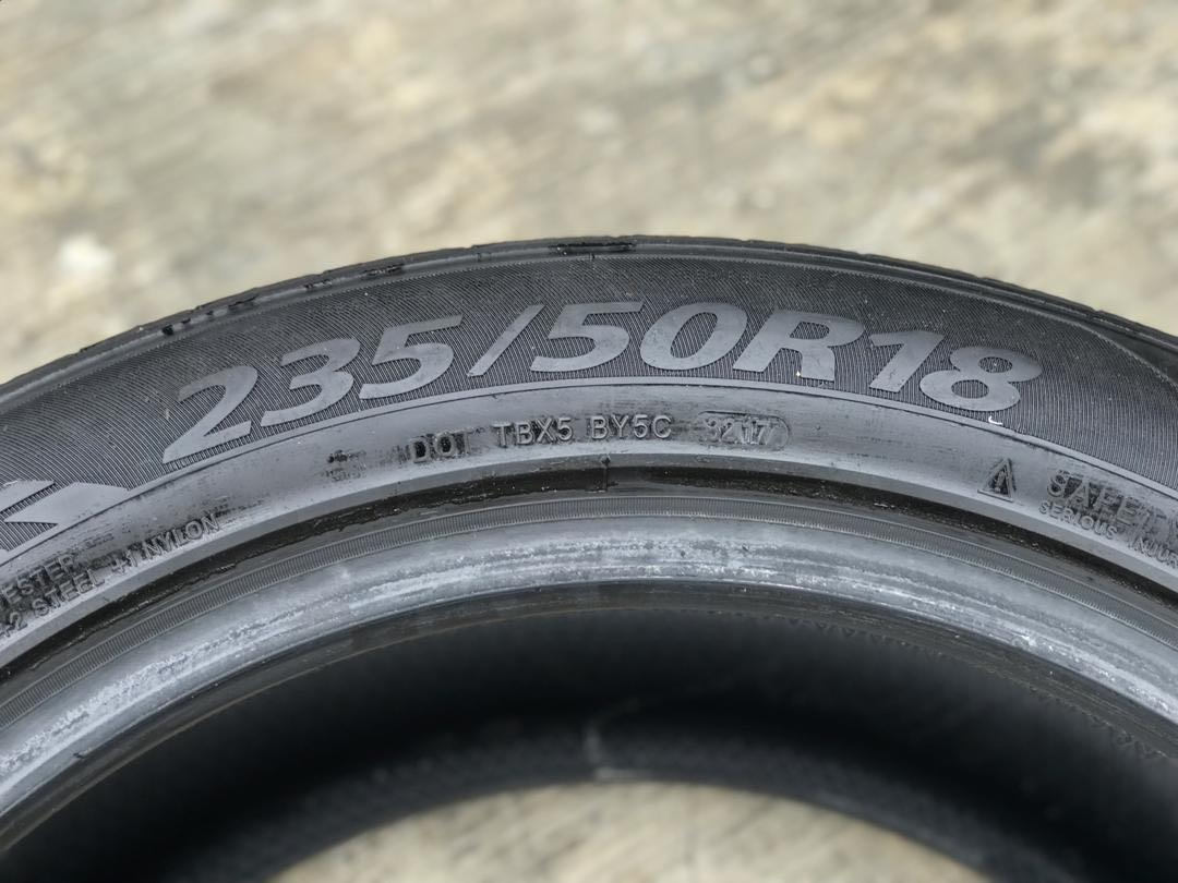 Used tyre 275 35 19 245 35 19 235 50 18 tayar 2nd