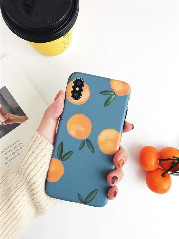Watercolour Orange Iphone Case