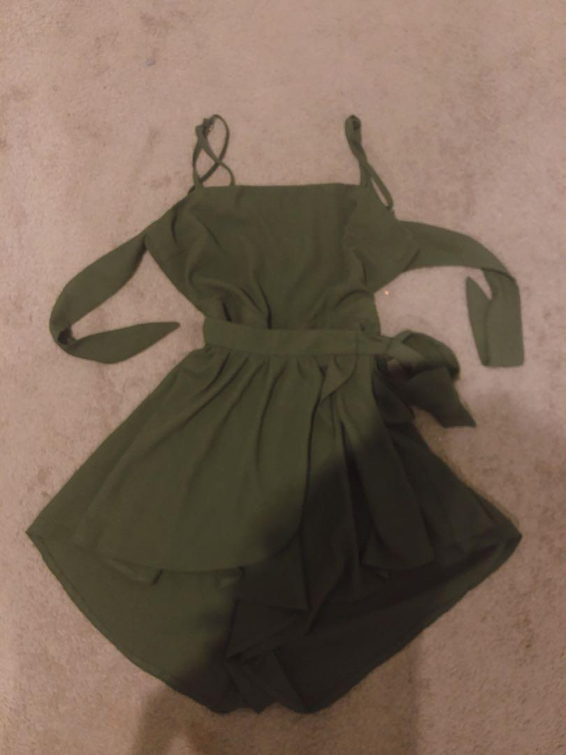 WhoIAm Playsuit sz8