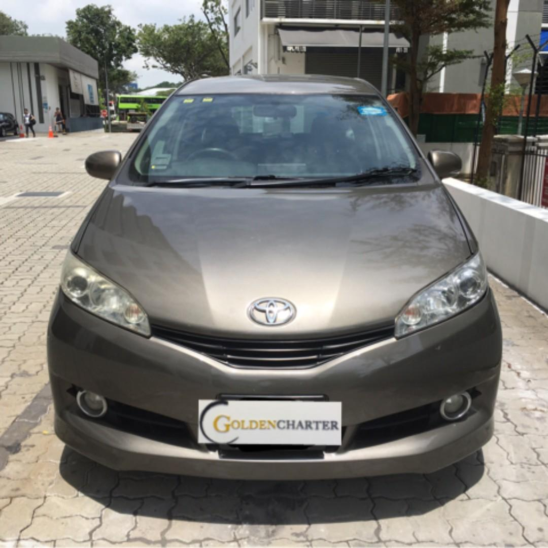 Wish 1.8 for rent , phv/personal can call us for more info