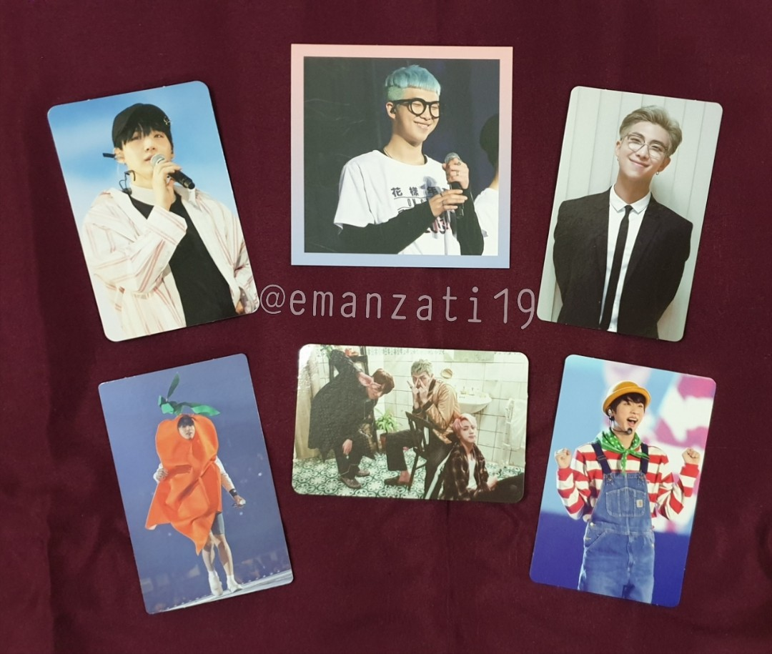 [WTT] BTS PHOTOCARDS