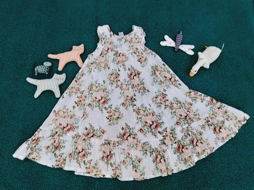Zara kids flowers dress