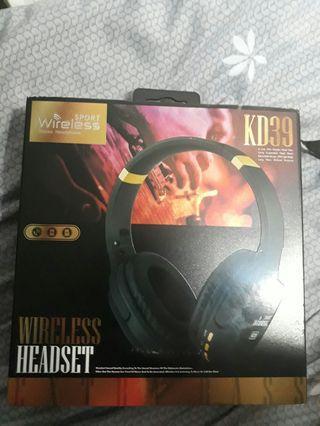 kd wireless headset