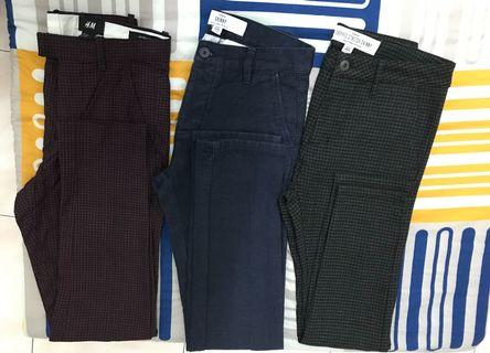 3 for RM100, Mix Brand Trousers 👖