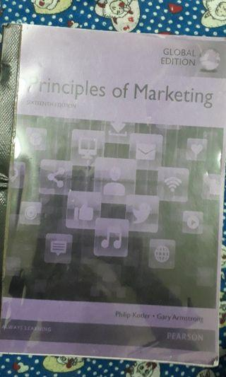 Principles of Marketing , 16th edition