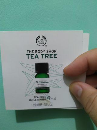 #visitsingapore The Body Shop tea tree oil 1ml