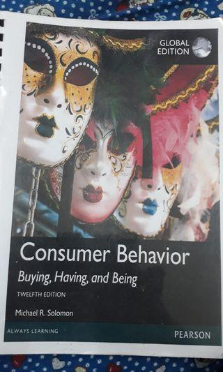 Consumer Behavior , buying, having, and being .. 12th edition