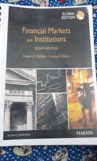 Financial Markets and Institutions , 8th edition