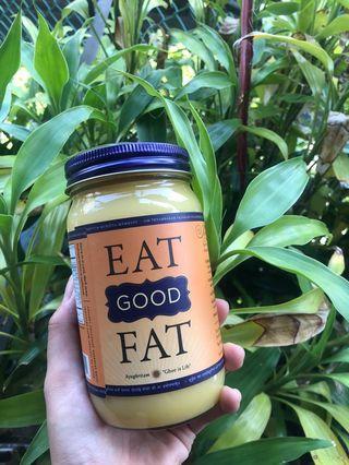 [現貨出清]美國代購 Ancient organics/ Eat good fat 有機草飼印度酥油生銅飲食防彈咖啡