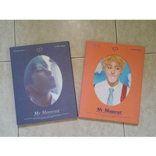 WTS HA SUNGWOON My Moment Album