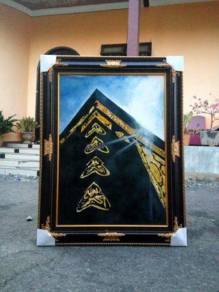Lukisan Ka'bah Mekkah