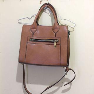 Forever 21 brown bag
