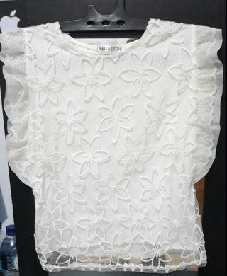 #visitsingapore White Top / baju fashion