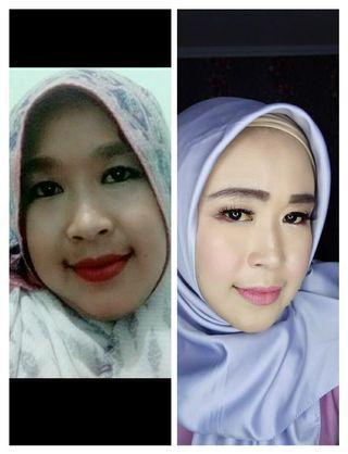 Make up wisuda dan hajat