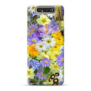 Beautiful Chrysanthemum Samsung Galaxy A80 Custom Hard Case