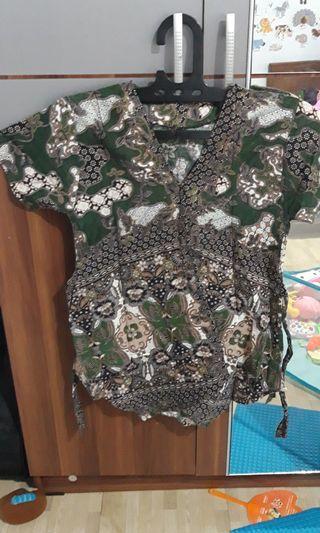 #visitsingapore baju batik / baju kerja