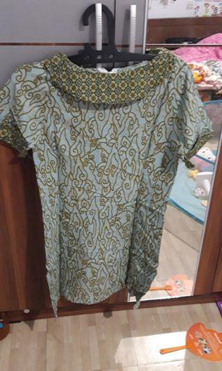 #visitsingapore dress batik / dress kerja