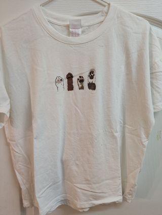 貓掌t-shirts