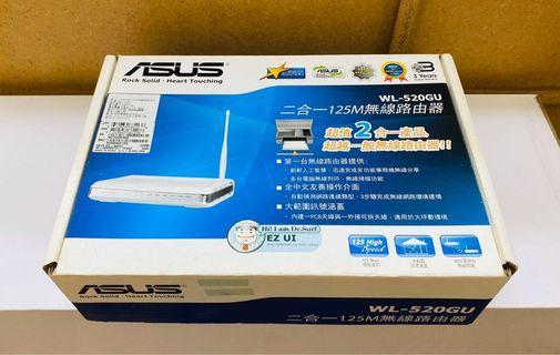 (功能正常) ASUS WL-520GU 無線基地台 路由器 WiFi