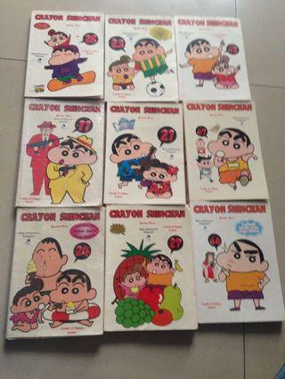 borong komik sinchan dll -100buku