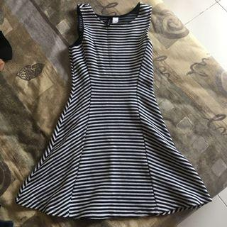 H&M stripes mididress