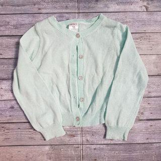 [PRELOVED] CARTER Glitter Mint Green Cardigan
