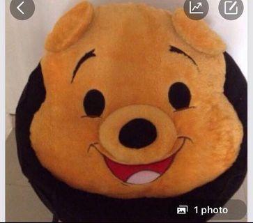 boneka besar kepala pooh