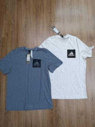 Adidas chest logo tee
