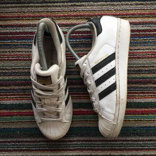 Adidas, Superstar in White/Black