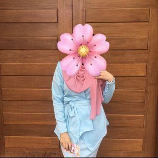 Icahfa Kurung Kimono Wrap