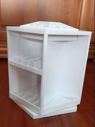 旋轉化妝品收納櫃 收納盒