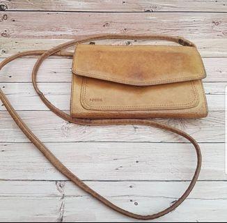 dompet clutch fossil slingbag