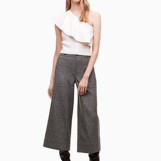 Aritzia Wilfred Sarthe Wide-Leg Wool Pants sz 4