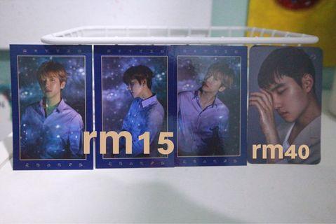 exo season greeting photocard