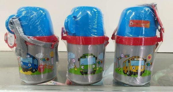 Botol Minum anak Tayo Technoplast / botol minum BPA free