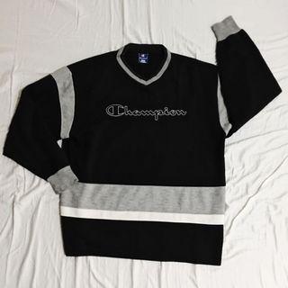 SALE: CHAMPION Vintage V-Neck Sweatshirt