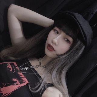 荊棘造型項鍊/不良少女少年項鍊/素面小偷帽
