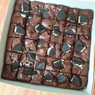 Brownies oreo bakar premium ingredients