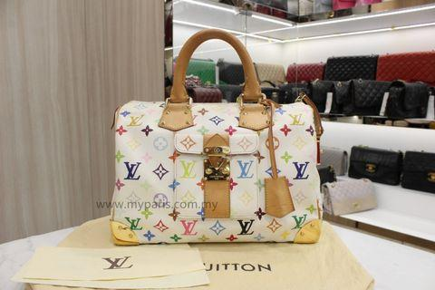 Louis Vuitton Monogram Multicolored Speedy 30