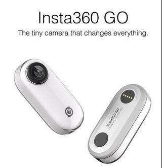 Insta360 GO 1080P Flow State Action Camera