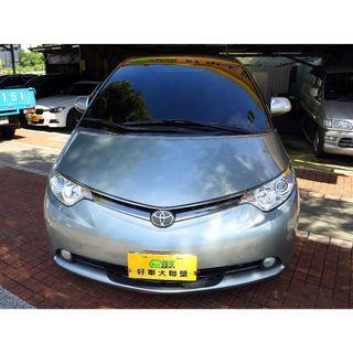 旭騰車業 HOT大聯盟認證 Toyota Previa 2006款 自排 2.4L 空間大 全家出遊好車