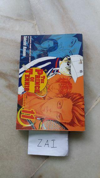 Manga/Komik Prince of Tennis Vol. 11 (ENG)