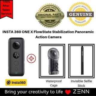 INSTA 360 ONE X FlowState Stabilization Panoramic Action Camera Pro Set