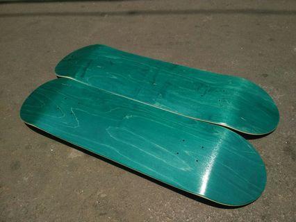 Blank Deck Skateboard 8.0