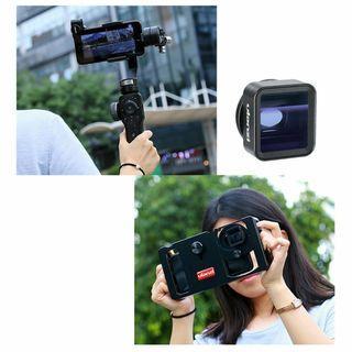 Ulanzi 1.33X Anamorphic Lens for Mobile Phone IPhone /Samsung/One Plus/Xiaomi
